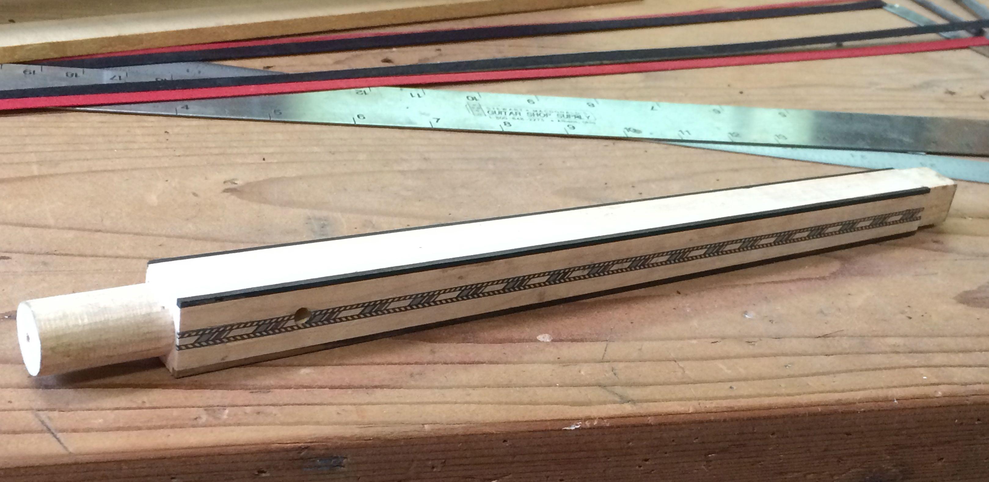 finsihed dowel stick