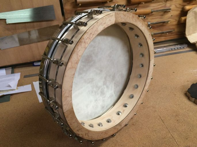 banjo pot back